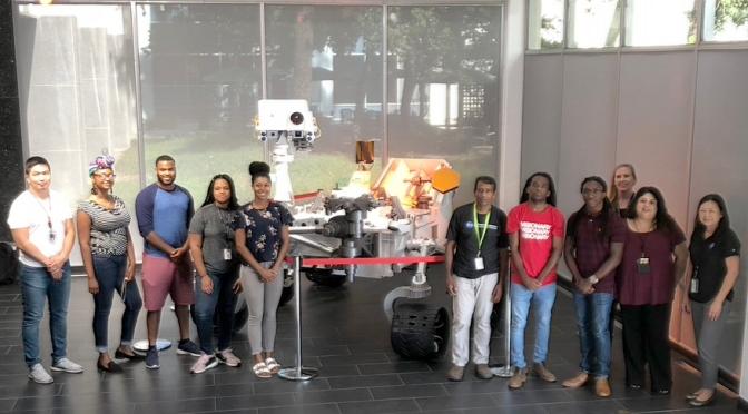 Mars Rovers and Navigation Tech Collide in NASA-JPL Education Program